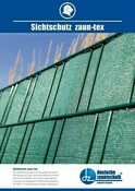 Db Sichtschutz zaun-tex